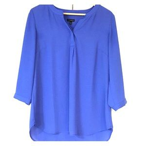 Never worn periwinkle blue summer blouse!